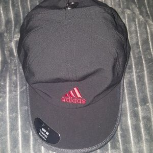 Adidas black adjustable baseball cap men's Adizero
